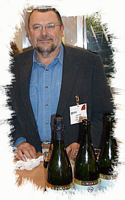 Larry Mawby of Michigan's L Mawby Vineyards