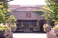 Entrance to J Winery
